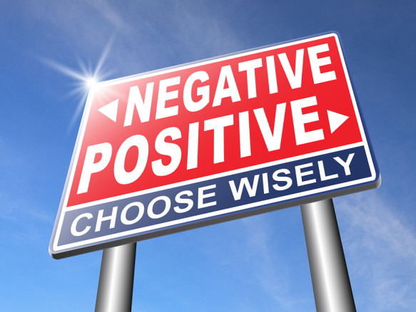 positive thinking or think negative positivity or negativity opt